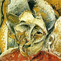 Dynamism of a Woman-s Head, 1914, boccioni