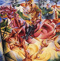 Elasticity, 1912, boccioni