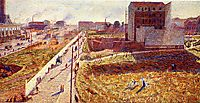 Factories At Porta Romana, boccioni
