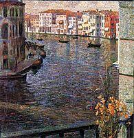 The Grand Canal in Venice, 1907, boccioni
