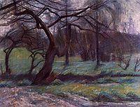 Moorland, 1908, boccioni