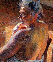 The Mother , 1909, boccioni