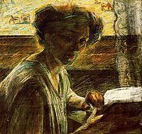 Portrait of a Young Woman, 1909, boccioni