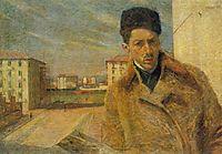 Self-portrait, 1908, boccioni