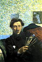 Self-portrait, 1905, boccioni