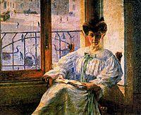 Signora Massimino, 1908, boccioni