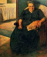 The Signora Virginia, 1905, boccioni