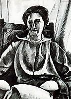 Silvia, 1915, boccioni
