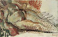 Simultaneous Nude, 1915, boccioni