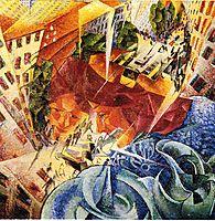 Simultaneous Visions, 1912, boccioni