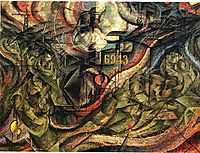 States of Mind I: The Farewells, 1911, boccioni