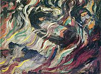 States of Mind: The Farewells, 1911, boccioni