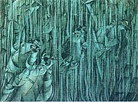 States of Mind III: Those Who Stay, 1911, boccioni