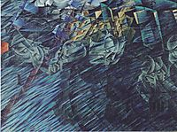 States of Mind: Those Who Go, 1911, boccioni