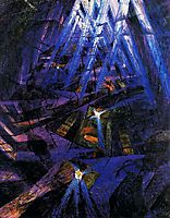 The Strengths of a Street, 1911, boccioni