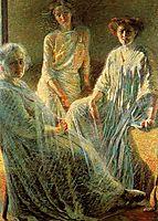 Three Women, c.1910, boccioni