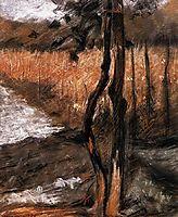 Trees, 1908, boccioni