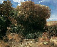 Campagna Landscape, 1858, bocklin
