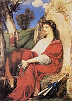 Euterpe, 1872, bocklin