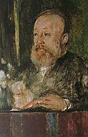 Gottfried Keller, c.1889, bocklin