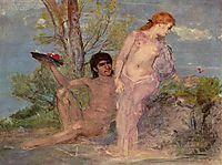 Idyll, 1866, bocklin