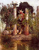Idyll (Pan Amidst Columns), 1875, bocklin