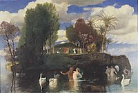 The Island of Life, 1888, bocklin