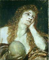 The Penitent Mary Magdalene, 1873, bocklin