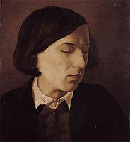 Portrait of Alexander Michelis, 1846, bocklin