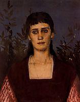 Portrait of Clara Bruckmann-Böcklin , bocklin