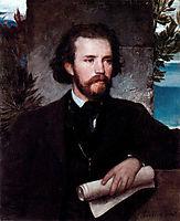 Portrait of the singer Karl Wallenreiter, bocklin