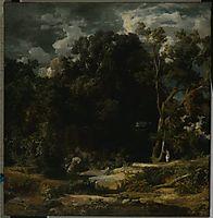 Roman Landscape, 1852, bocklin