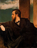 Self-portrait, bocklin