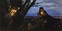 Spring night, bocklin