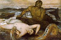 Triton and Nereid, 1877, bocklin
