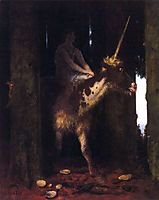 Unicorn, 1885, bocklin