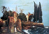Villa by the Sea, 1878, bocklin