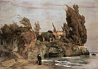 Villa by the Sea, c.1865, bocklin