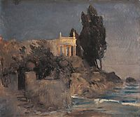 Villa by the Sea, c.1864, bocklin