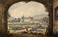 The Cusanusstift in Bernkastel Kues , 1831, bodmer