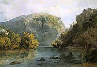 The Delaware Water Gap, bodmer