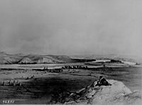 Fort Pierre and the Adjacent Prairie, 1839, bodmer