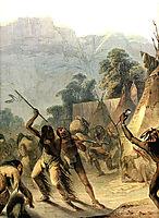 Missouri Indians, 1832, bodmer
