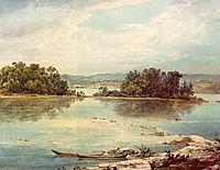 Susquehanna near Harrisburg, Pennsylvania, bodmer