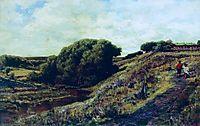 Ablyazov. Radishchevskaya estate. Ravine, 1887, bogolyubov