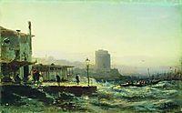 Baku. Embankment, 1861, bogolyubov