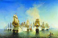 The Battle of Athos , 1853, bogolyubov