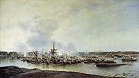 The Battle of Gangut, July 27, 1714, 1877, bogolyubov