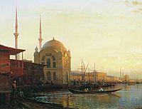 Mosque in Istanbul, c.1850, bogolyubov