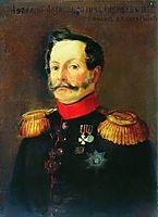 Portrait of A.A. Radischev, 1853, bogolyubov